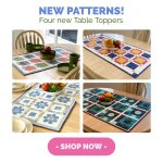 new table runner patterns for quilting