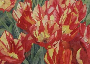 Vintage Tulips | Patricia Flynn