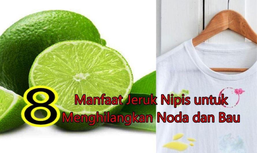8 Manfaat Jeruk Nipis untuk Menghilangkan Noda dan Bau