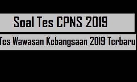 Tes Wawasan Kebangsaan 2019