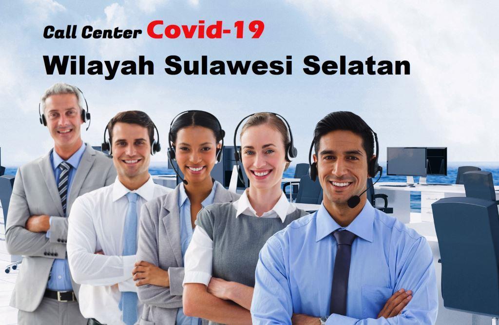 Call Center Covid-19 sulsel