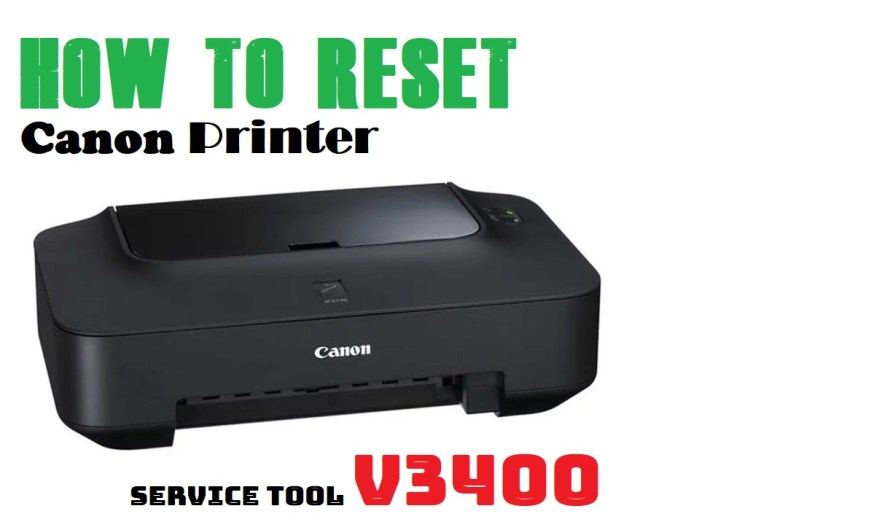 How to Reset Canon Printer IP2770 Complete and Correctly by Service Tool v3400