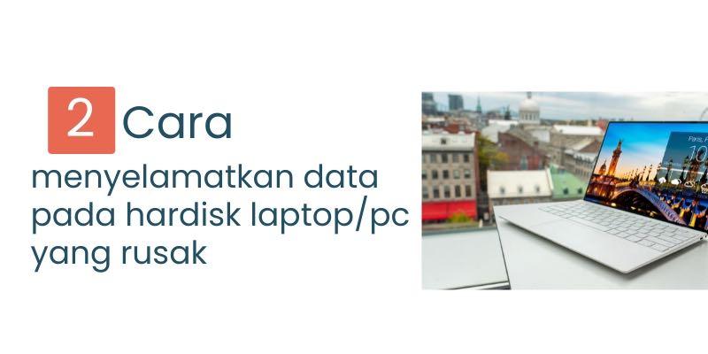 menyelamatkan data