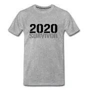 2020 Survivor - Premium-T-shirt herr