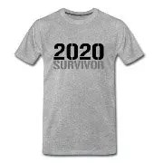 2020 Survivor - Premium-T-shirt herr