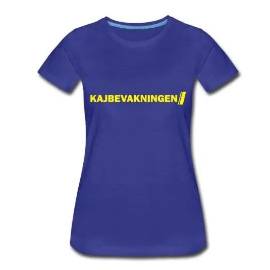 Kajbevakningen - Premium T-shirt dam