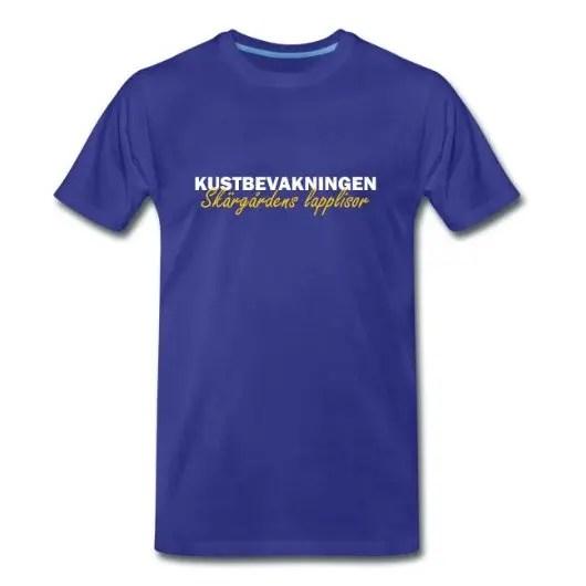 Kustbevakningen - Skärgårdens Lapplisor - Premium T-shirt herr