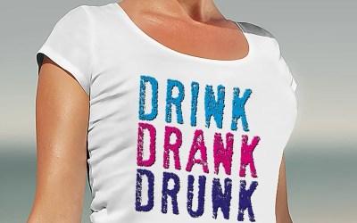 Drink Drank Drunk – Drick, drack, packad!