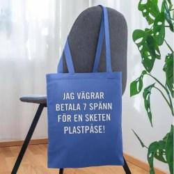 Tygkassar - Vägra betala plastpåseskatt!