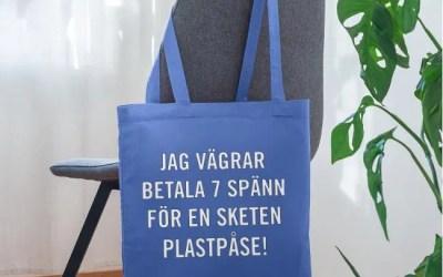 Tygkassar – Vägra betala plastpåseskatt!