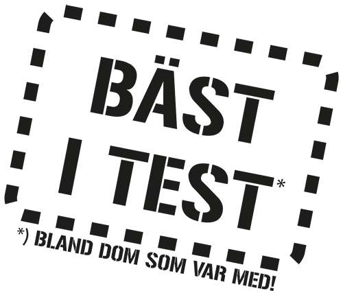 Motiv: Bäst i test - bland dom som var med