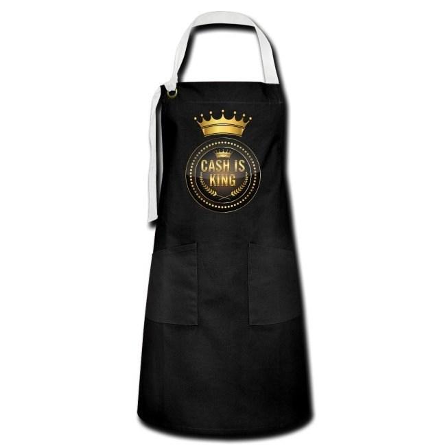 Cash is king - visa att du bojkottar kontantfria butiker och restauranger - Kontrastförkläde