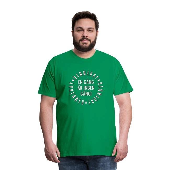 Hammarby - En gång är ingen gång - Premium T-shirt herr
