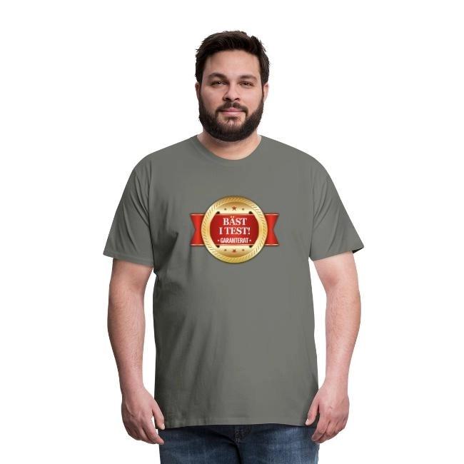 Bäst i test - Garanterat - Premium T-shirt herr