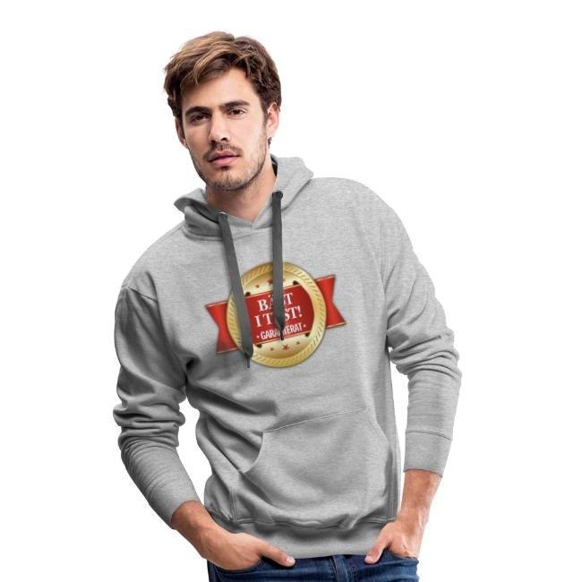 Bäst i test - Garanterat - Premiumluvtröja hoodie herr