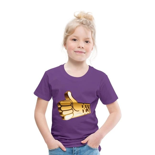 Best - Premium T-shirt barn