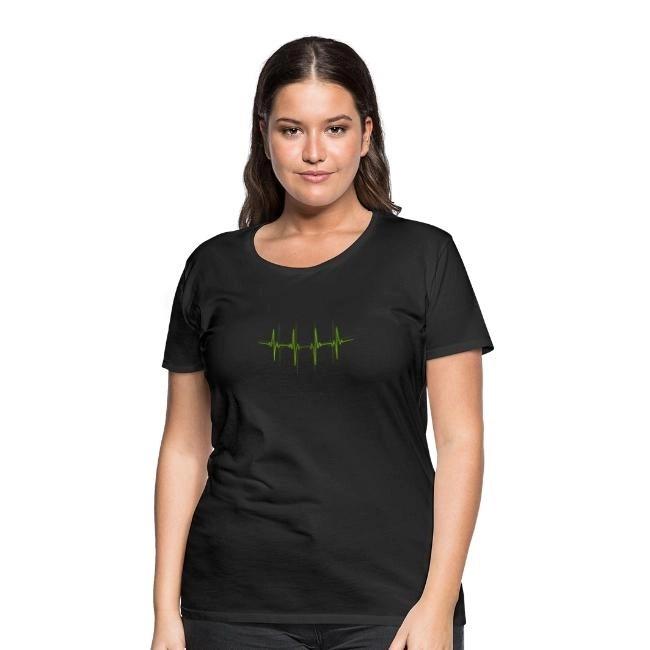 EKG - Premium T-shirt dam