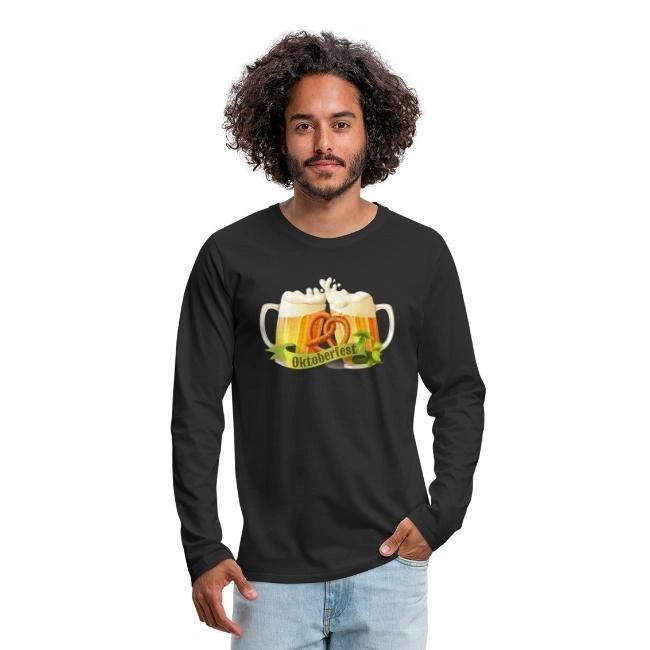 Oktoberfest - Långärmad premium T-shirt herr