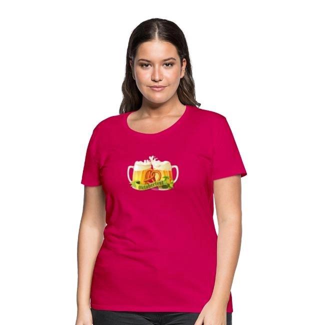 Oktoberfest - Premium T-shirt dam