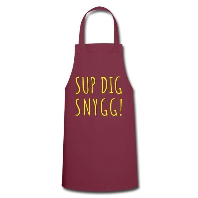 Sup Dig Snygg - Förkläde