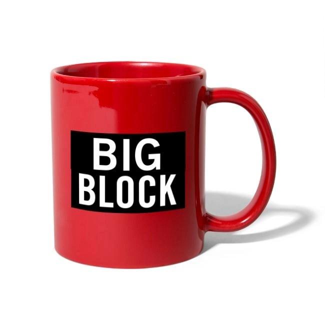 Big Block - Enfärgad mugg
