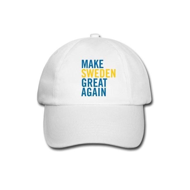 Make Sweden Great Again - Basebollkeps