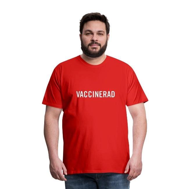 Vaccinerad - Premium T-shirt herr