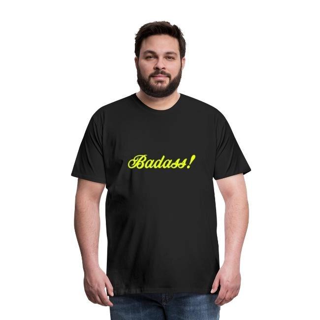 Badass! - Premium T-shirt herr