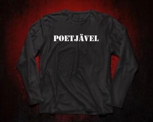 Poetjävel - Långärmad Premium T-shirt herr