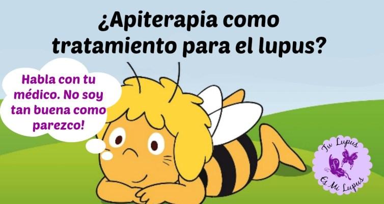 La Apiterapia NO es tratamiento para el lupus