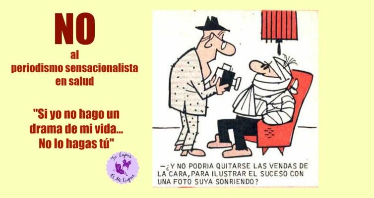 No al Periodismo sensacionalista ni al sensacionalismo