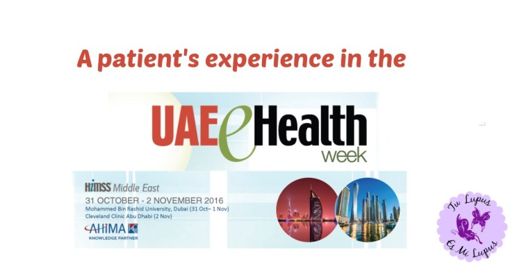 A patient's experience in the #UAEeHealthWeek