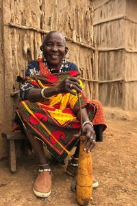 Maasai bibi