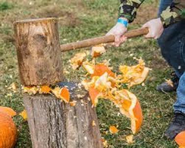 smash pumpkin