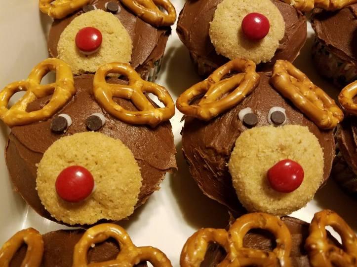 Reindeer cupcake_3