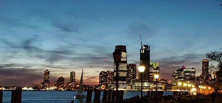New York City: Battery Park at Sunset