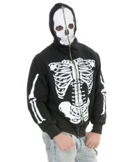 Skeleton sweatshirt costume