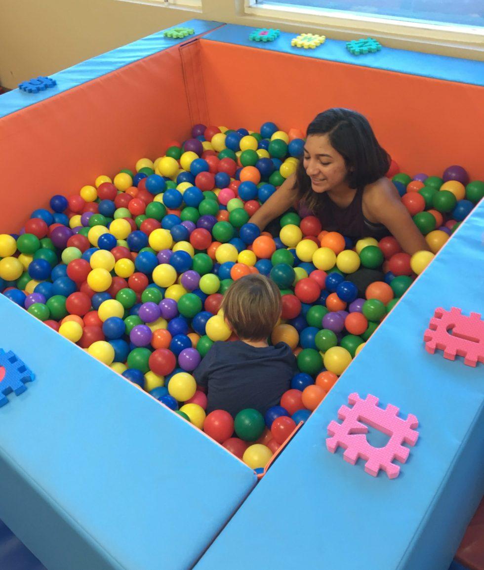 Ball Pool for Pediatric OT Services