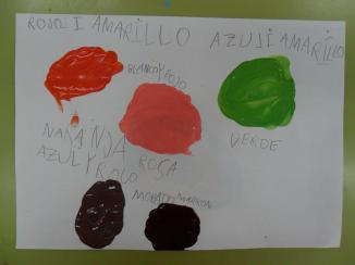 Jugamos a hacer mezclas de colores