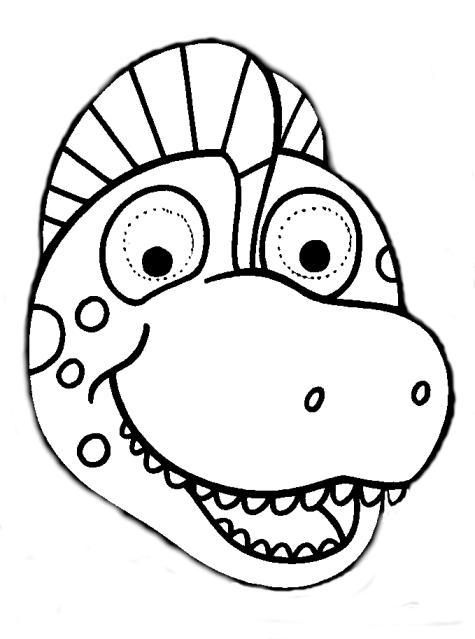 Careta dinosaurio