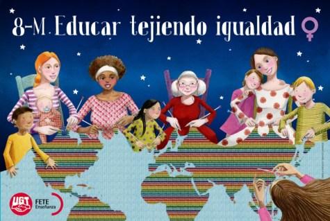 POLcartel_educar_tejiendo_igualdad