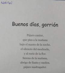 Poesía de Adrián