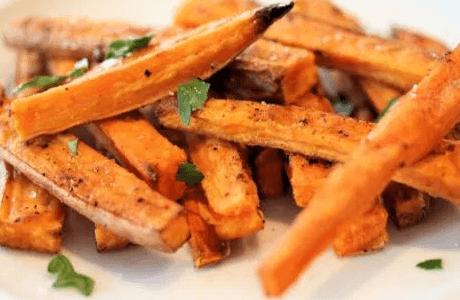 Patatas fritas saludables