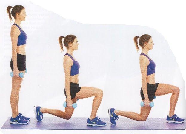 ejercicios funcionales zancadas