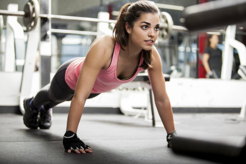 ejercicios para reducir pecho