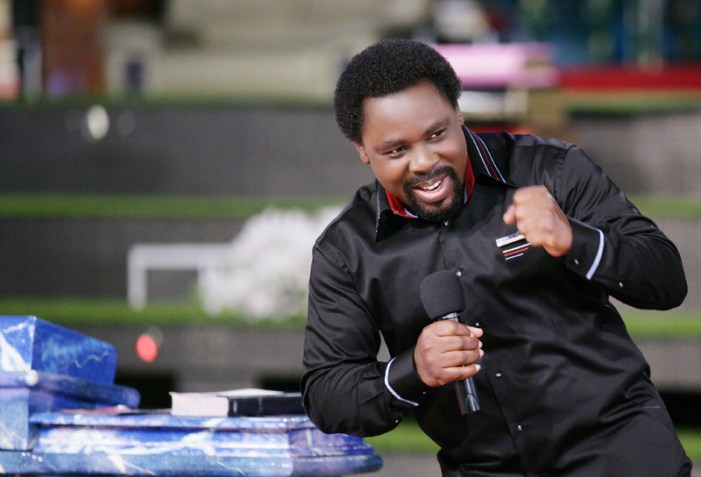 TB Joshua Prophecy to Politicians, Others 'Reward those who help you succeed now because you will need them later'