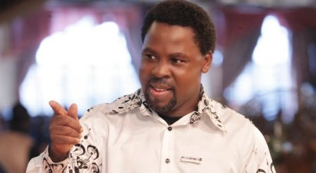 "Prophet TB Joshua Says ""The Death Of An African President Is Close Now"""