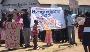 African Methodist Church Falls Apart '..members break away to join the Redeemed Methodist Church'