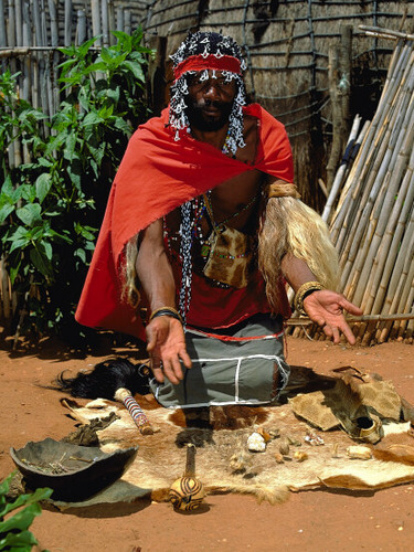 Witchdoctor to Cleanse Siavonga School