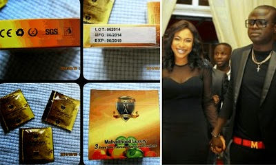 Tonto Dikeh's Boyfriend Now Producing Flavoured Condoms